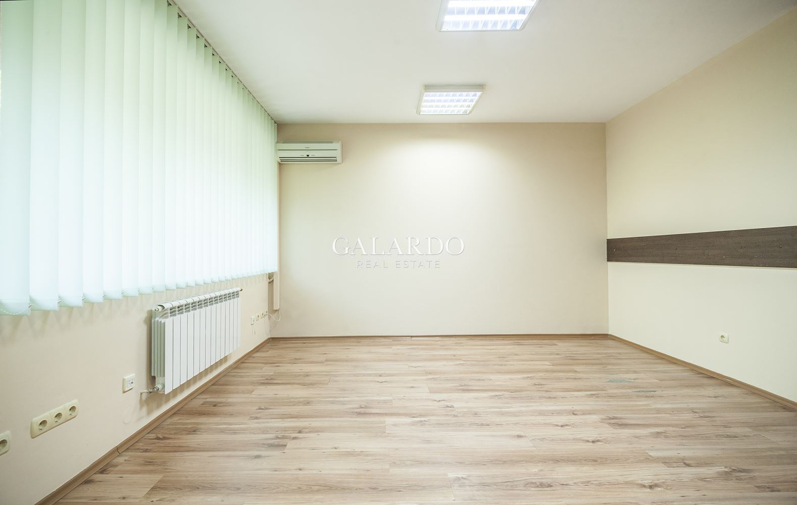 Office area in business building in Lozenets district