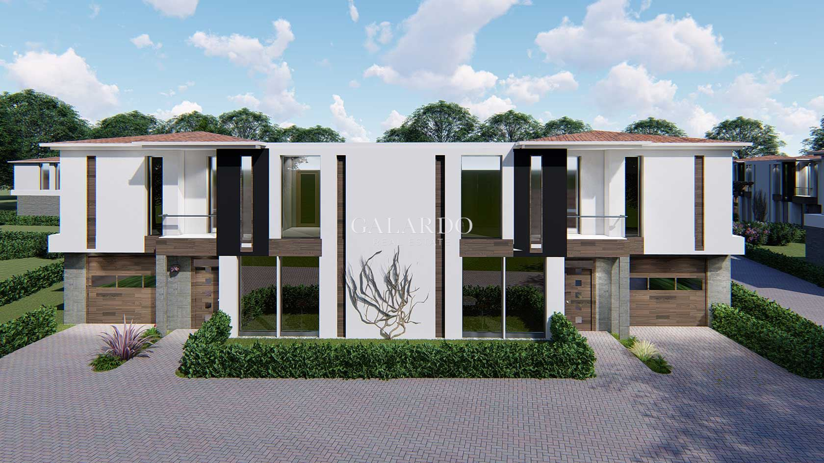 Smart, eco house in a gated complex near the town of Bankya